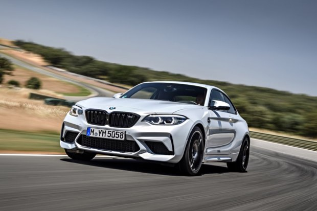 BMW M2 Competition low front