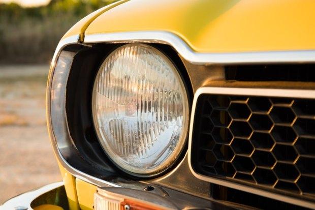 Honda Civic 1976 headlight