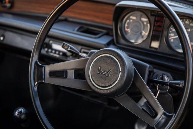 Honda Civic 1976 steering wheel