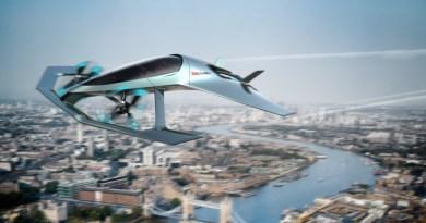 Aston Martin Volante Vision Concept flying