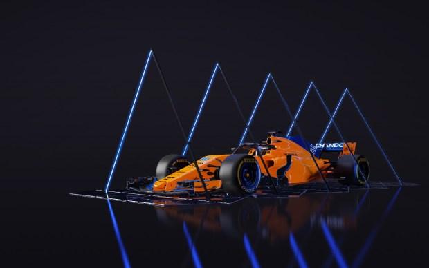 McLaren MCL33 art