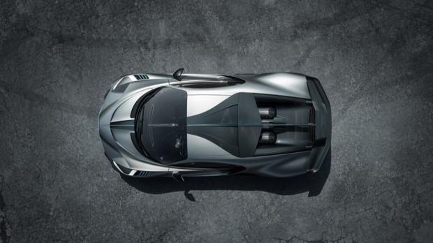 Bugatti Divo roof