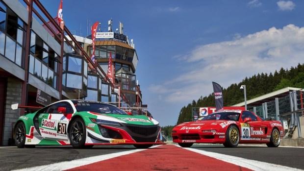 Honda NSX racers