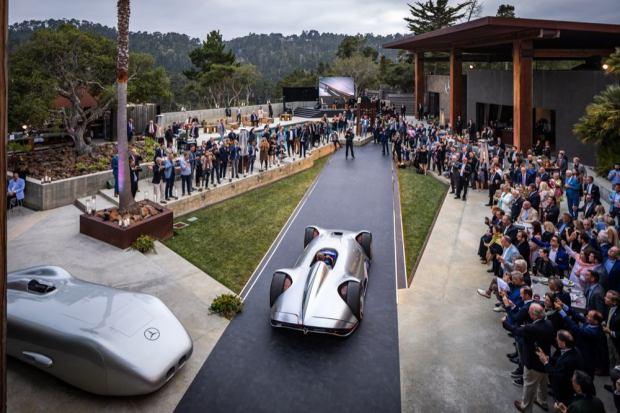 Mercedes-Benz Vision EQ Silver Arrow unveiling
