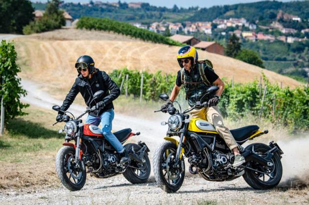 Ducati Scrambler Icon two colours