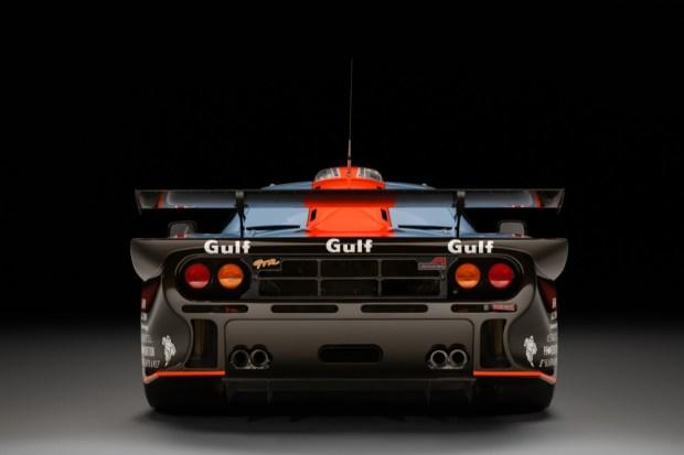 McLaren F1 GTR rear view