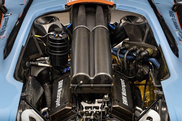 McLaren F1 GTR engine bay