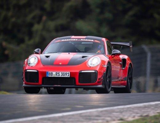 Porsche 911 GT2 RS MR at speed