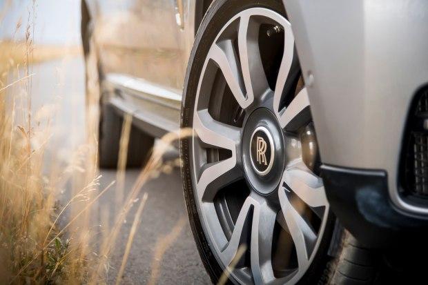 Rolls-Royce Cullinan wheel