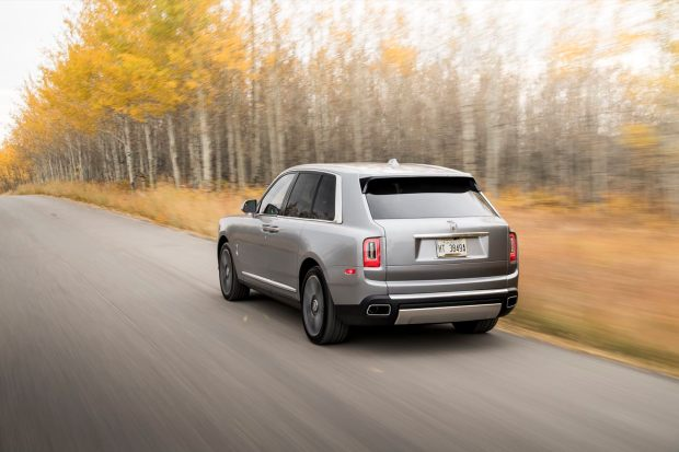 Rolls-Royce Cullinan rear view