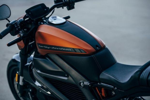 Harley-Davidson LiveWire tank