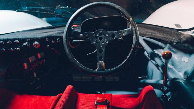 Porsche 917 interior detail