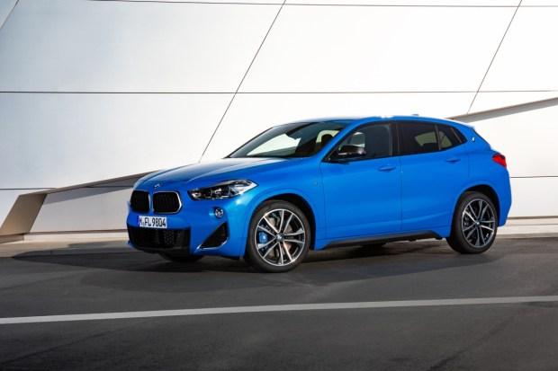BMW X2 M35i parked