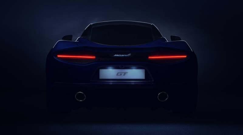 McLaren GT teaser rear