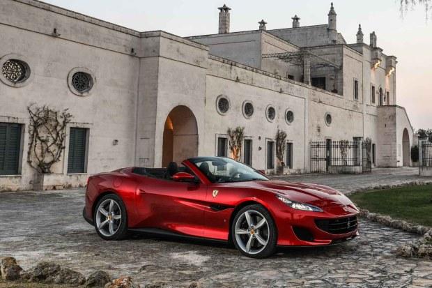 Ferrari Portofino hero shot