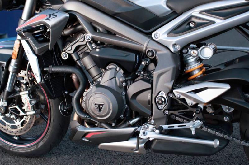 Triumph Street Triple RS engine