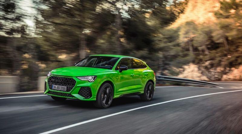 Audi RS Q3 Sportback driving