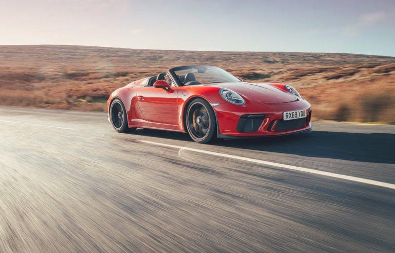 Porsche 911 Speedster side