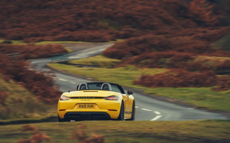 Porsche 718 Boxster T rear