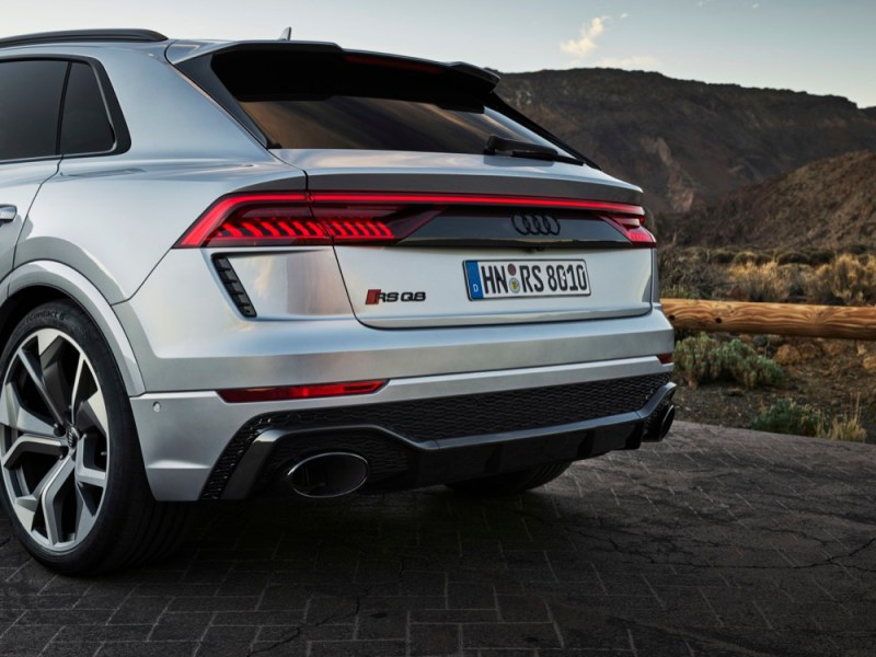 Audi RS Q8 exhaust