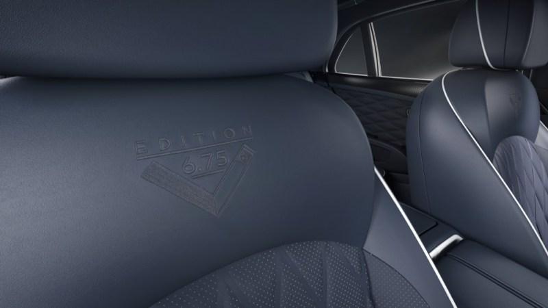 Bentley Mulsanne 675 Edition seat