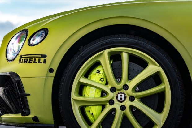 Bentley Pikes Peak brakes