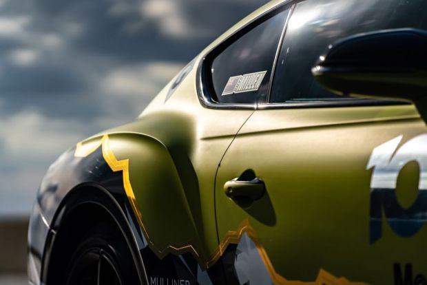 Bentley Pikes Peak rear