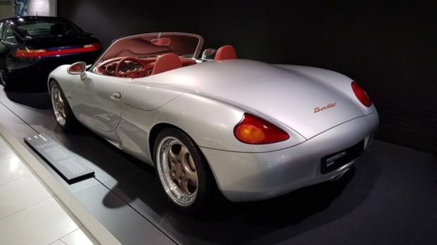Original Boxster concept rear