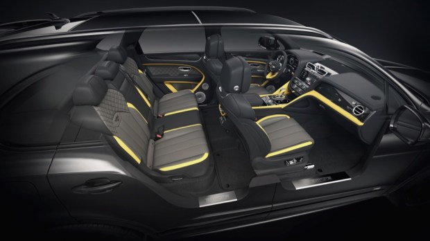 Mulliner Personal Commissioning Guide interior