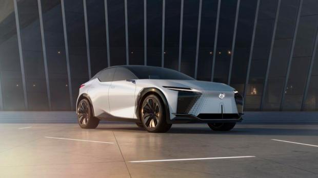 Lexus LF-Z Electrified main
