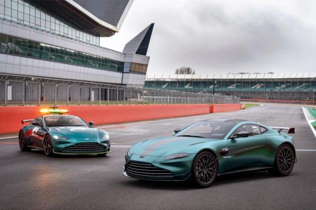 Aston Martin Vantage F1 Edition safety car