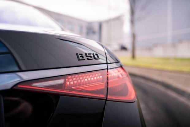 Brabus S-Class badge