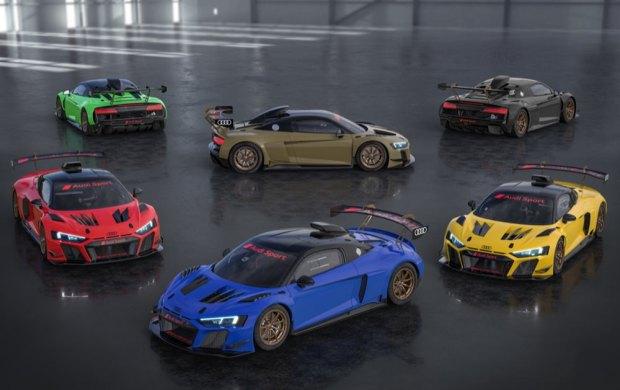 Audi R8 LMS GT2 Color Editions