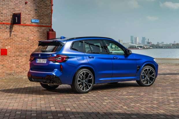 BMW X3 M Competition paint