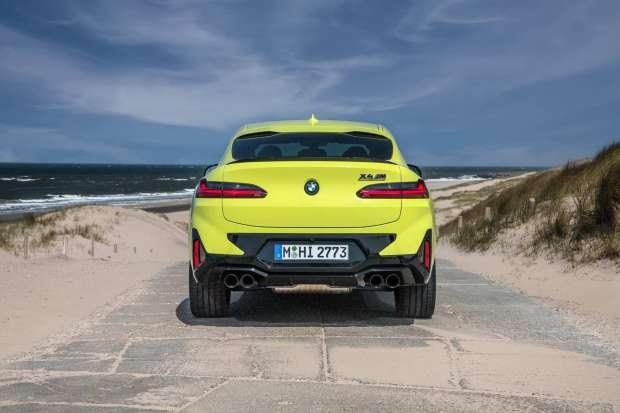 BMW X4 M Competition bumper