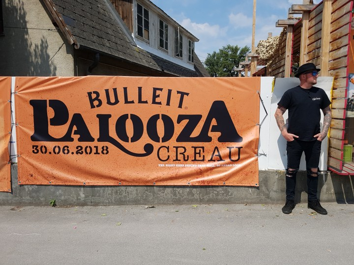 Damon at Bulleit Palooza