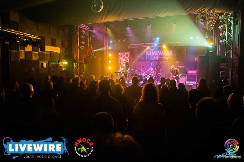 50 Year Storm playing at Livewire, Cornwall
