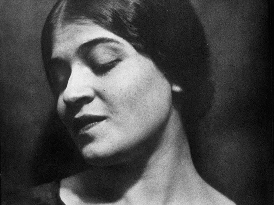 A 1924 portrait of photographer Tina Modotti taken by her lover, Edward Weston