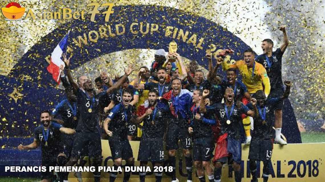 Perancis Raih Gelar Juara Piala Dunia 2018