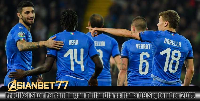 Prediksi Skor Pertandingan Finlandia vs Italia 09 September 2019