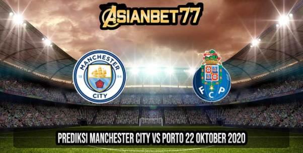 Prediksi Manchester City vs Porto 22 Oktober 2020