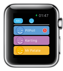 Support image Apple Watch 1 - eyeFree