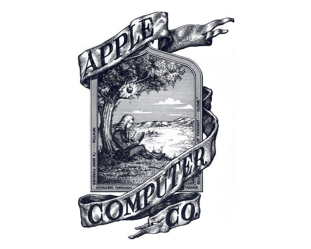 Apple Computer Original Logo 512 Pixels