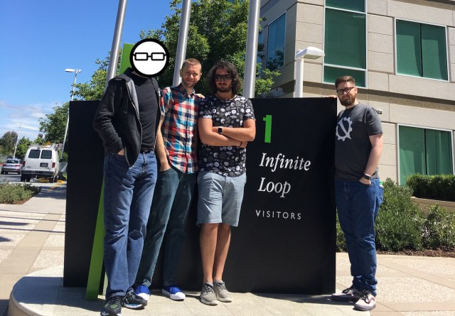 Visiting the Apple Campus