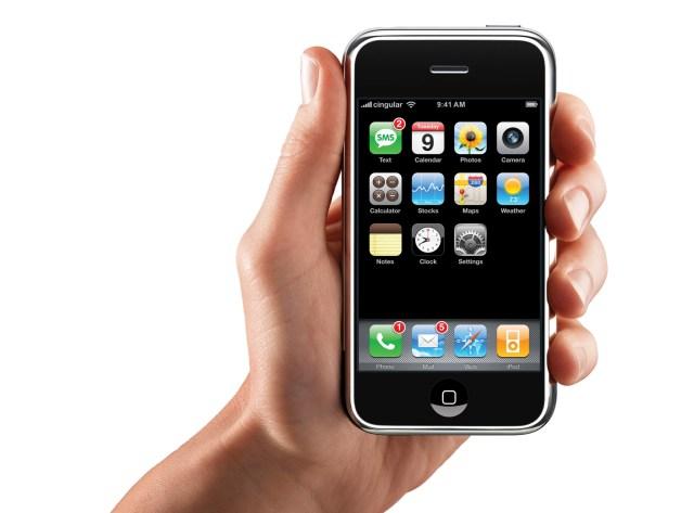 iPhone OS Dock