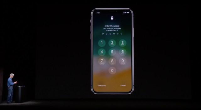 iPhone X unlock fail