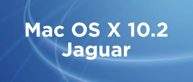Mac OS X 10.2 Jaguar