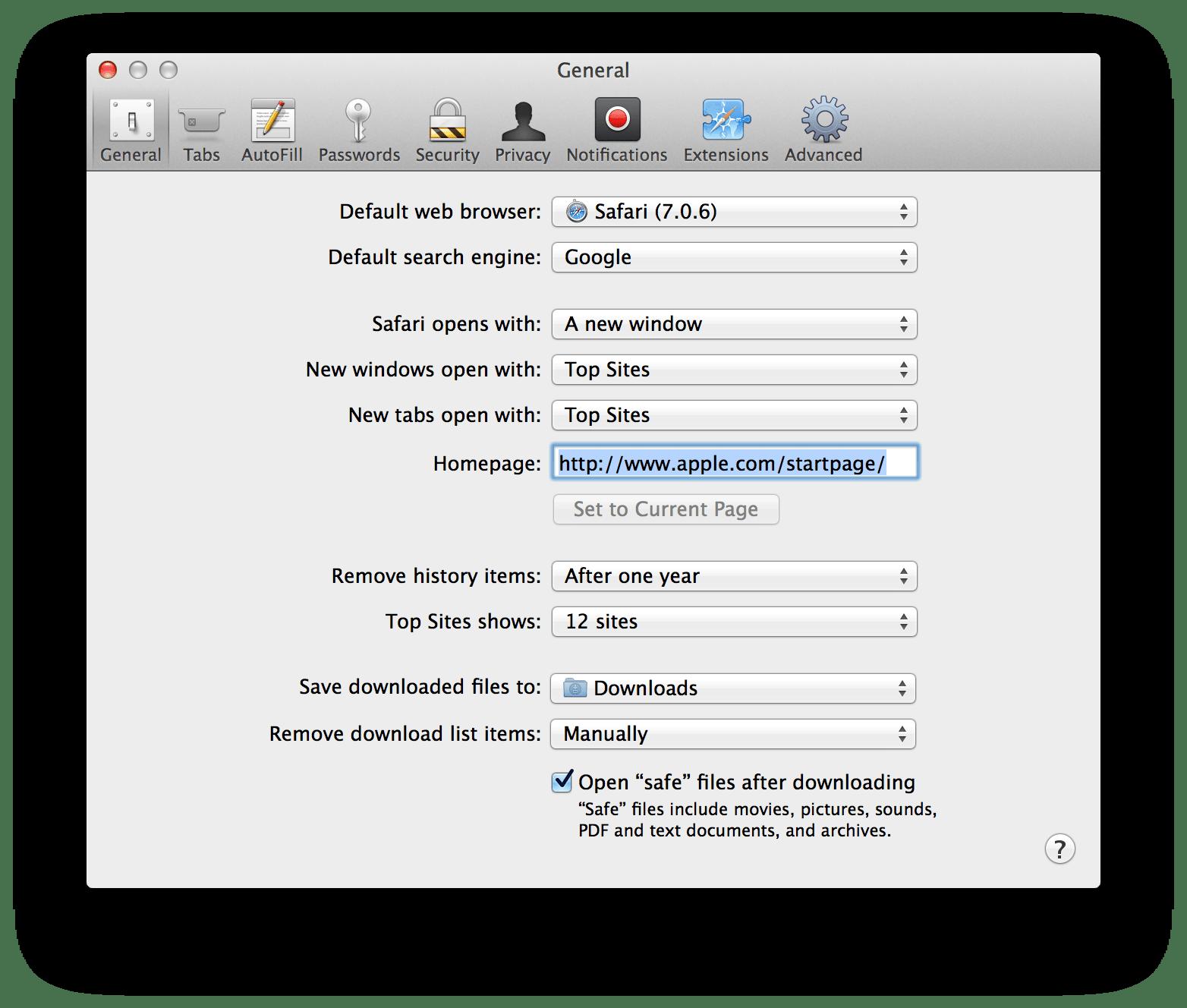 10-9-Mavericks-Safari-v7-Preferences – 512 Pixels