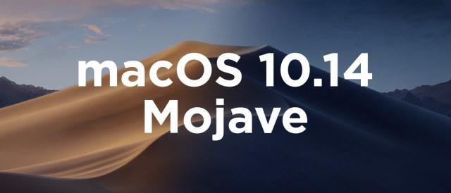 macOS 10.14 Mojave