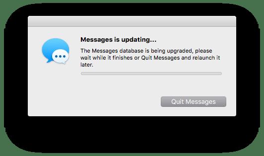 Messages Error